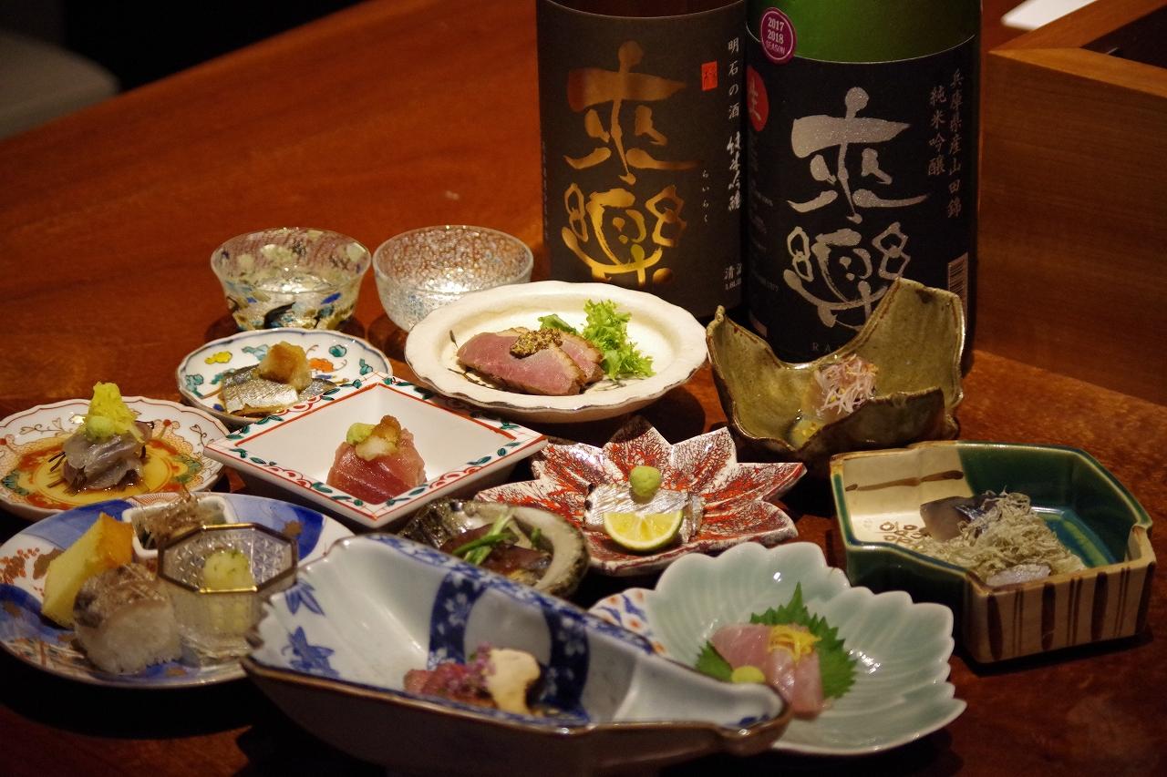姫路 和食 白瀬 日本酒ゴーアラウンド